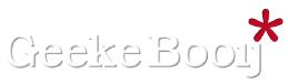Logo Geeke Booij